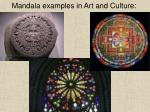 mandala examples in art and culture
