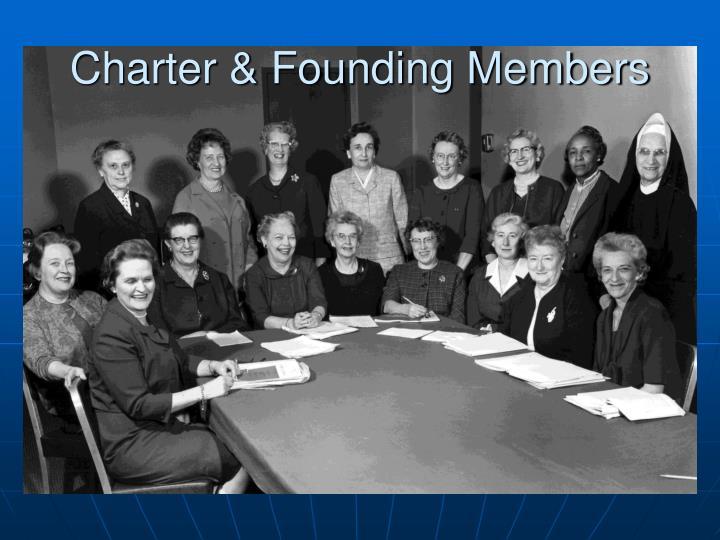 Charter & Founding Members
