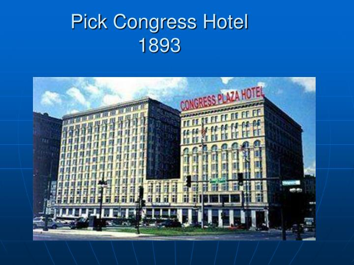 Pick Congress Hotel