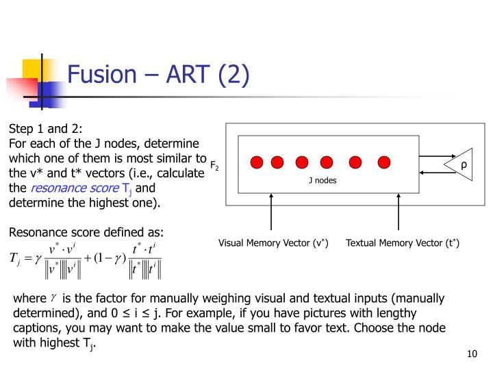 Fusion – ART (2)
