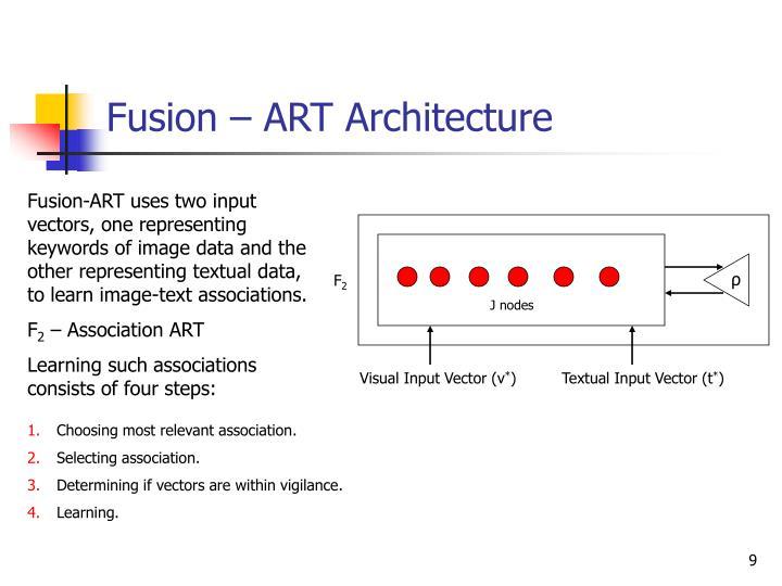 Fusion – ART Architecture