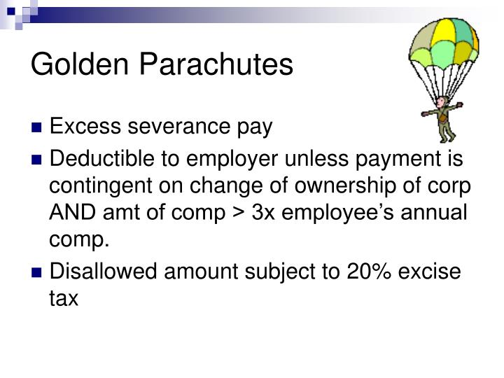 Golden Parachutes