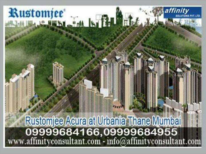 Unique booking in rustomjee acura thane mumbai 09999684955