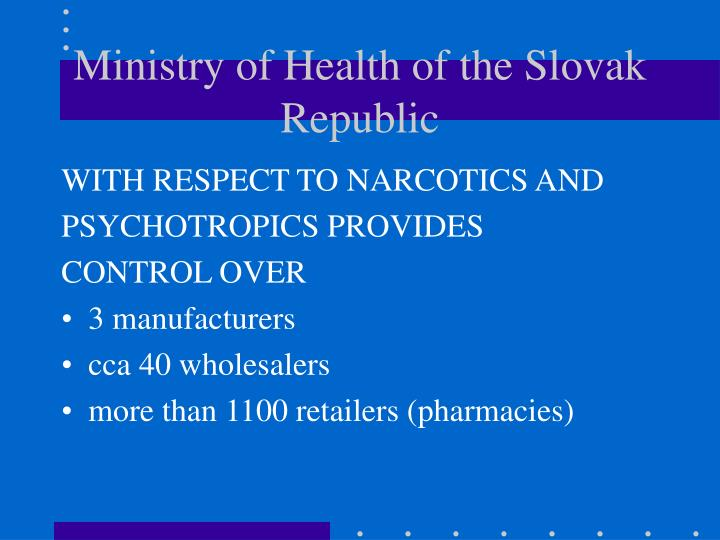 Ministry of Health of the Slovak Republic