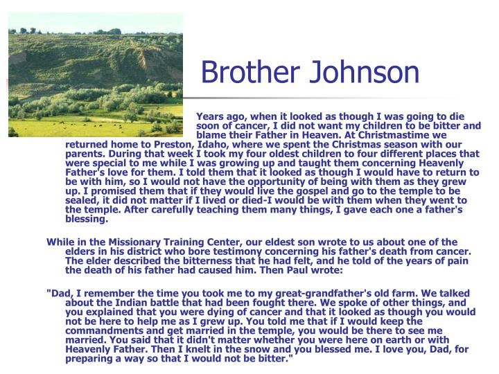 Brother Johnson