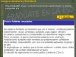 segunda parte lengua competencia ling stica gramatical morfolog a preguntas 8 91
