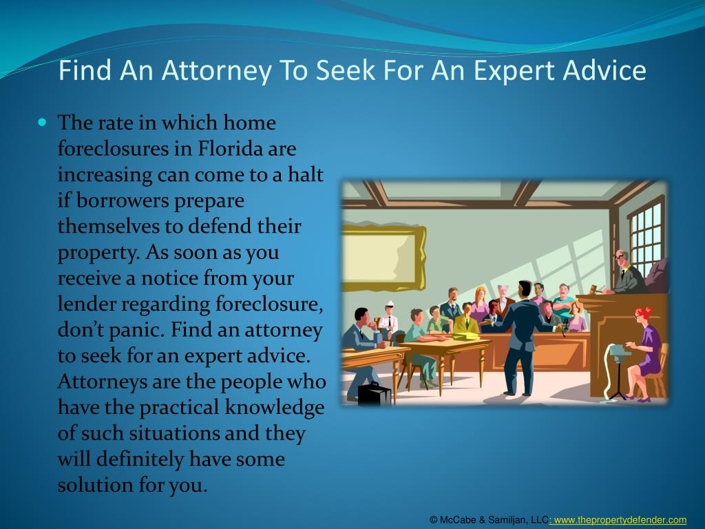 Find An Attorney To Seek For An Expert Advice