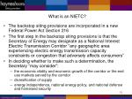 what is an nietc