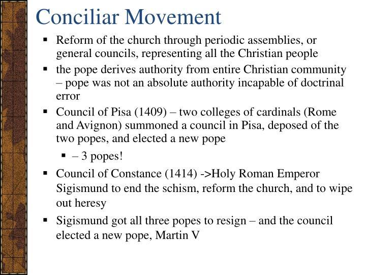 Conciliar Movement