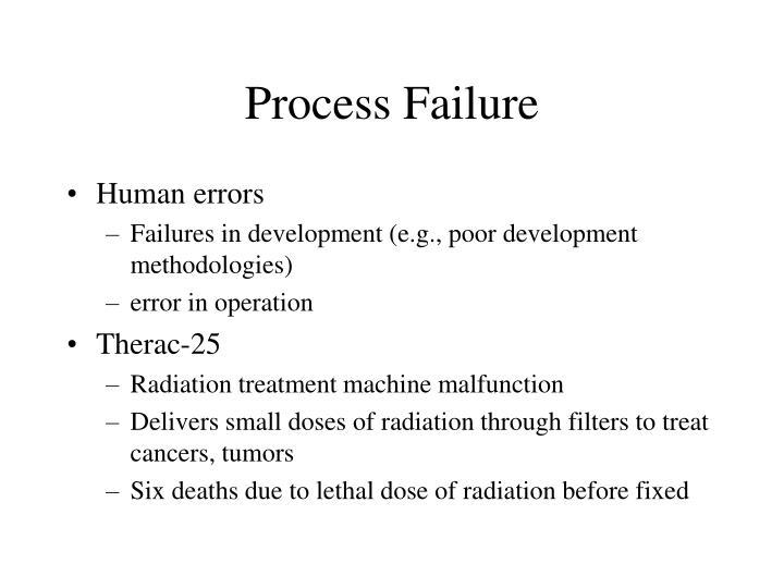 Process Failure