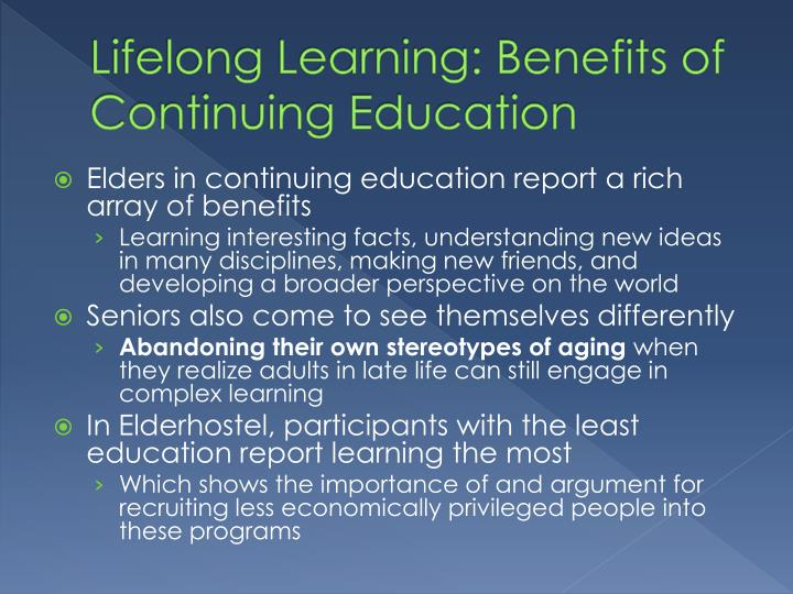 benefits of continuous workplace training Personal development in your workplace posted by  on their agenda when considering personal development training and the benefits to the business must out way .