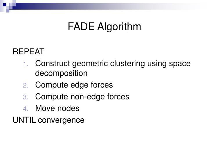 FADE Algorithm