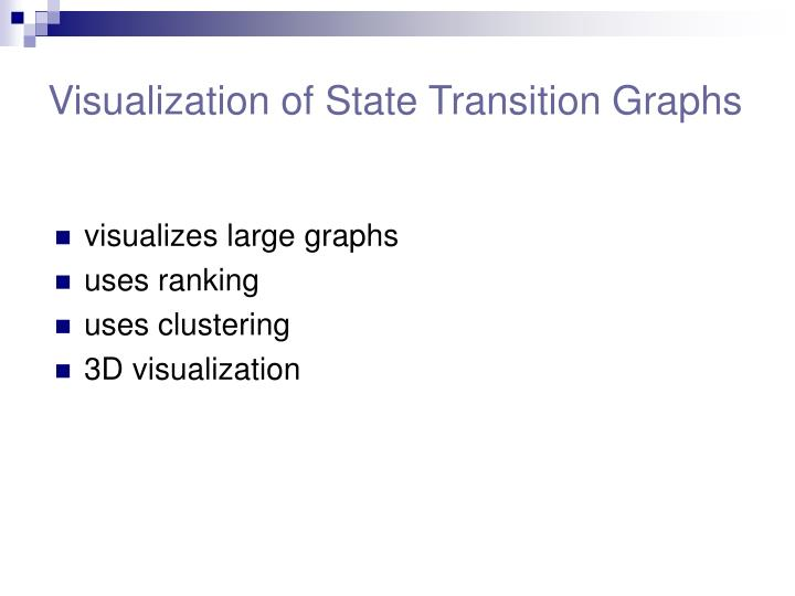 Visualization of State Transition Graphs