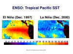 enso tropical pacific sst