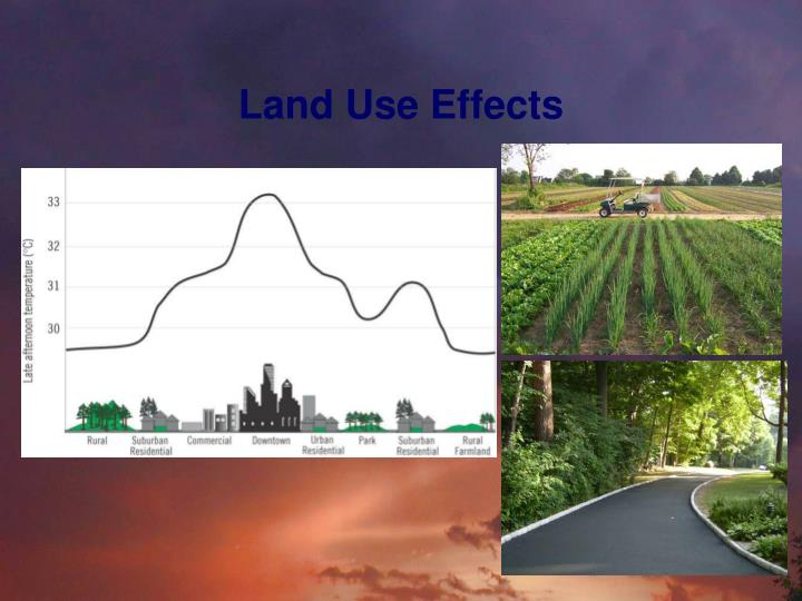 Land Use Effects