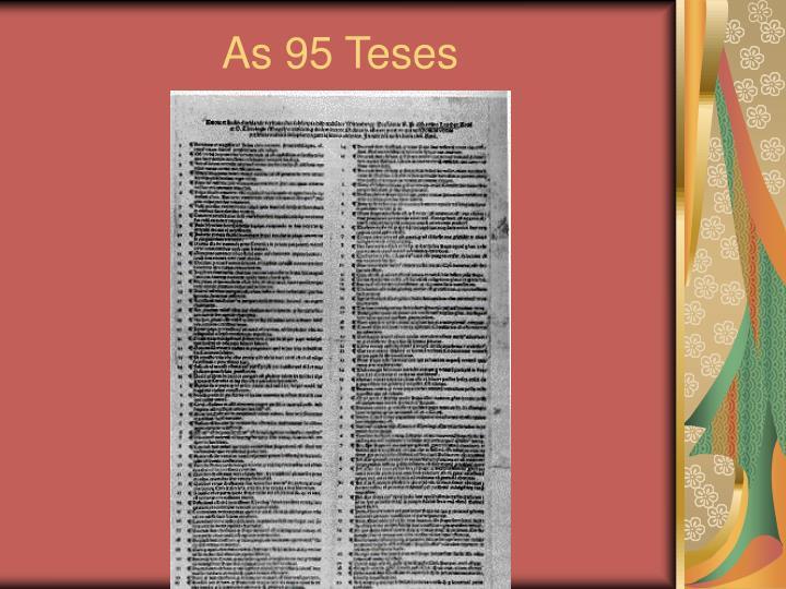 As 95 Teses
