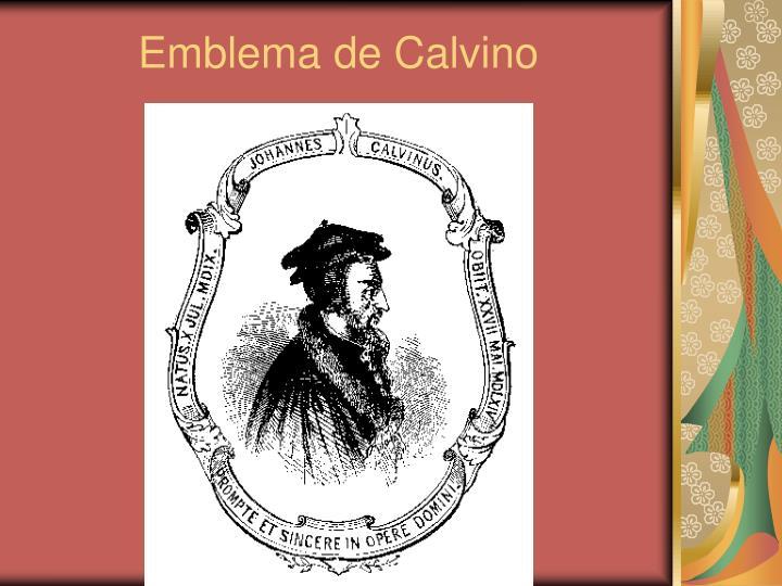 Emblema de Calvino