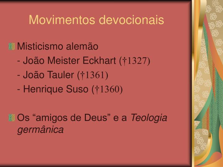 Movimentos devocionais