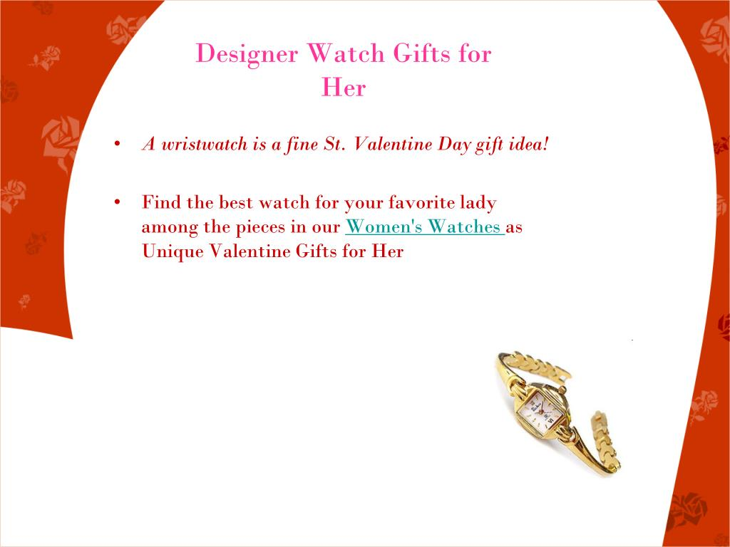 Designer Watch Gifts for Her