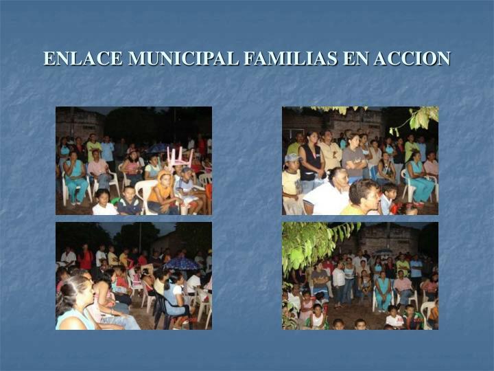 ENLACE MUNICIPAL FAMILIAS EN ACCION