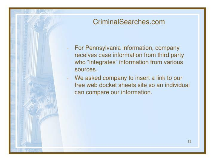 CriminalSearches.com