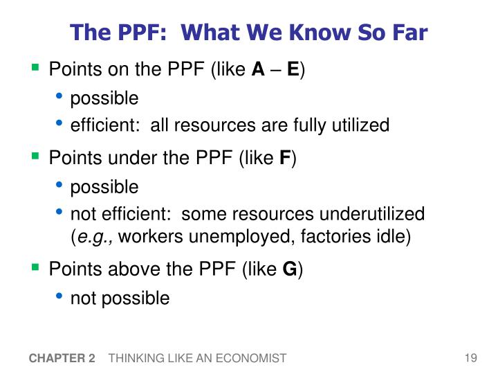 The PPF:  What We Know So Far