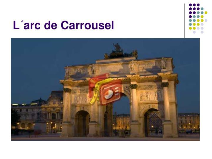 L´arc de Carrousel