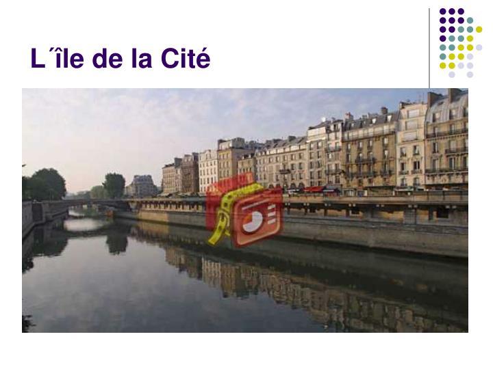 L´île de la Cité