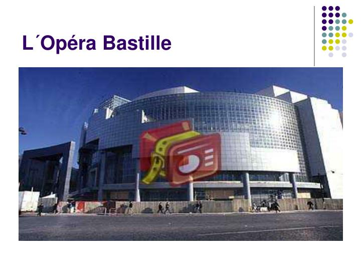 L´Opéra Bastille