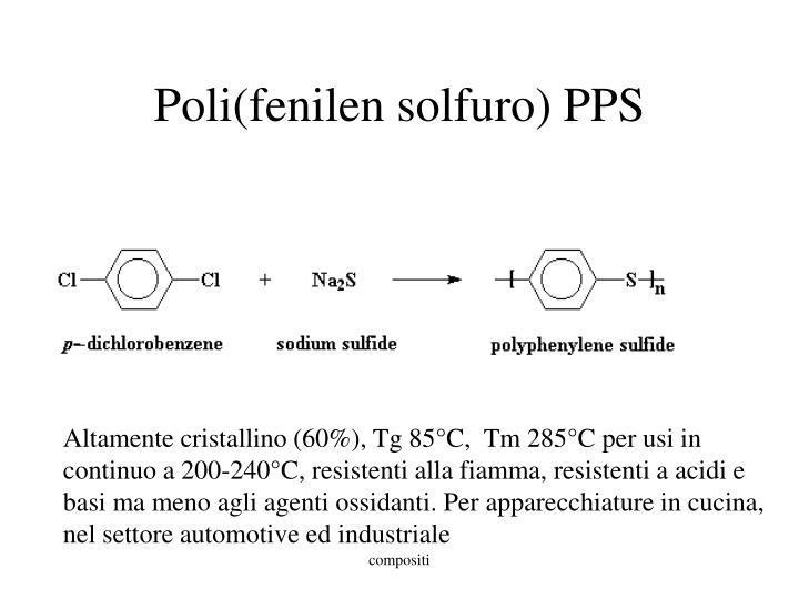Poli(fenilen solfuro) PPS
