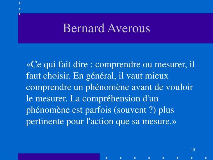 Bernard Averous