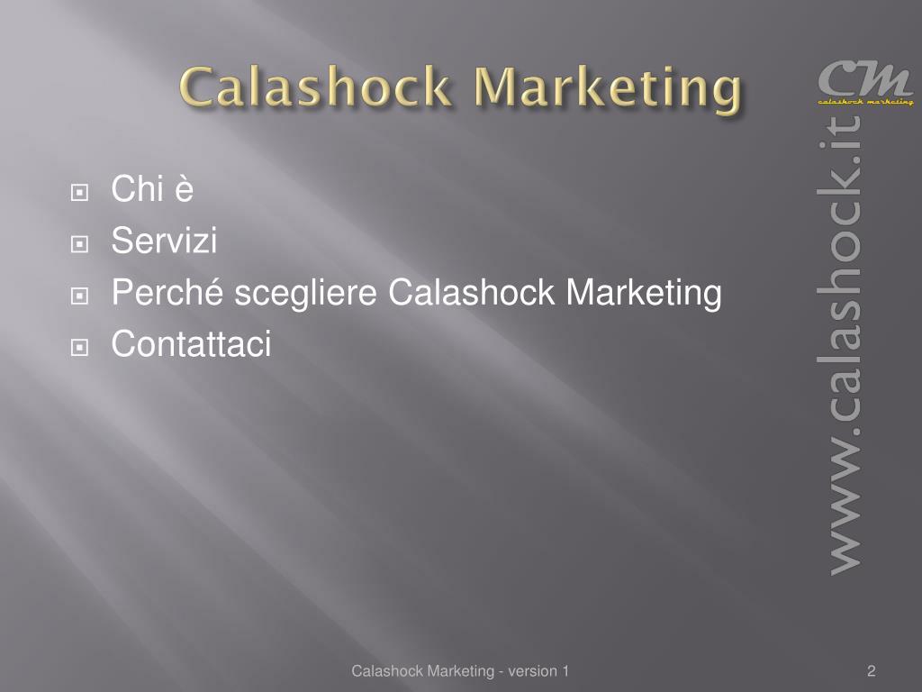 Calashock Marketing