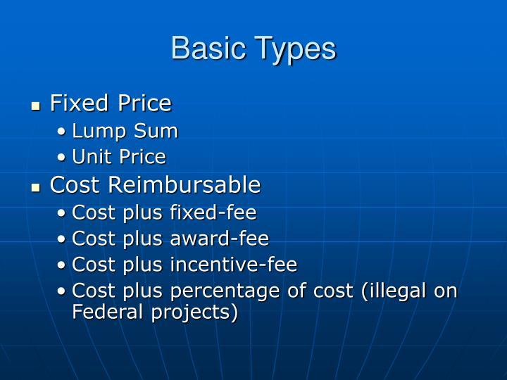 Basic Types