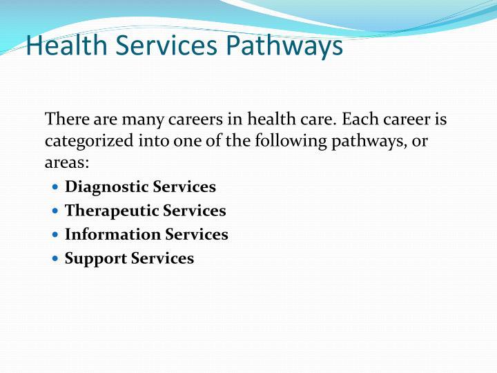 Health Services Pathways