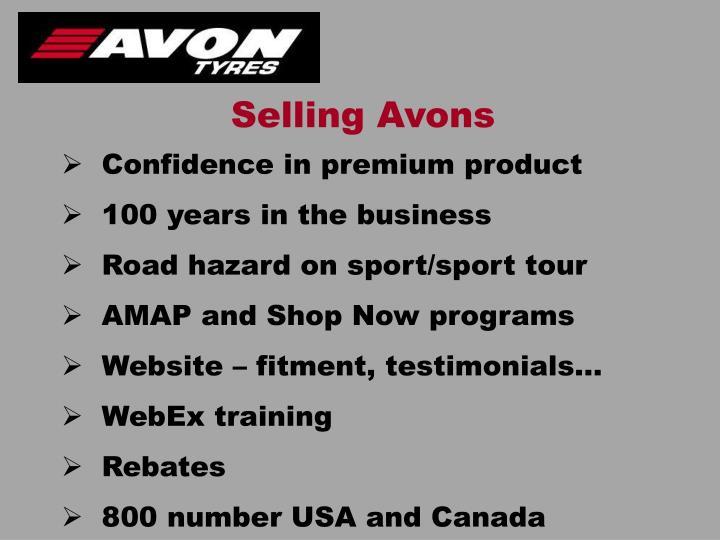 Selling Avons