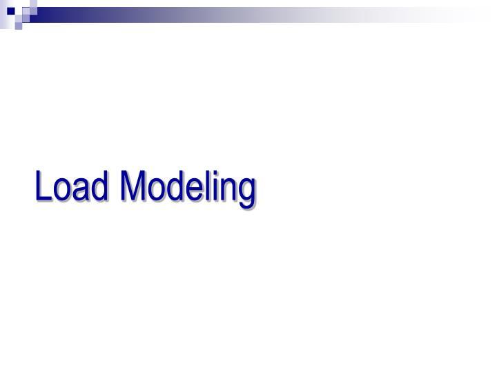 Load Modeling