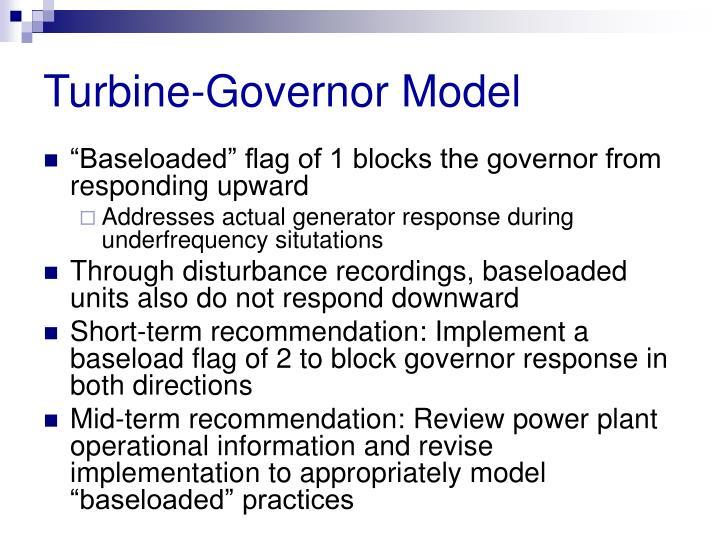 Turbine-Governor Model