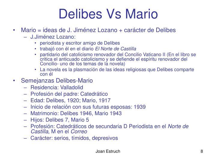 Delibes Vs Mario