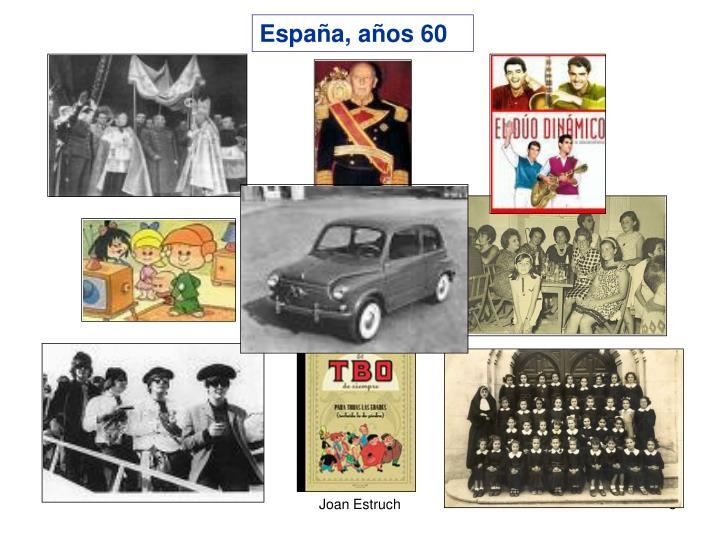 España, años 60