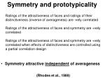 symmetry and prototypicality