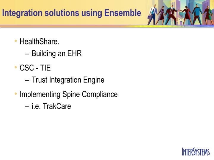 Integration solutions using ensemble