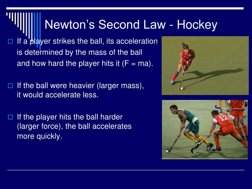 Newton's Second Law - Hockey