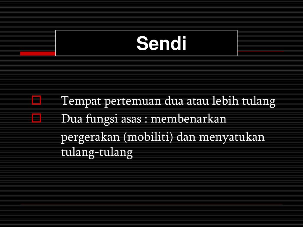 Sendi