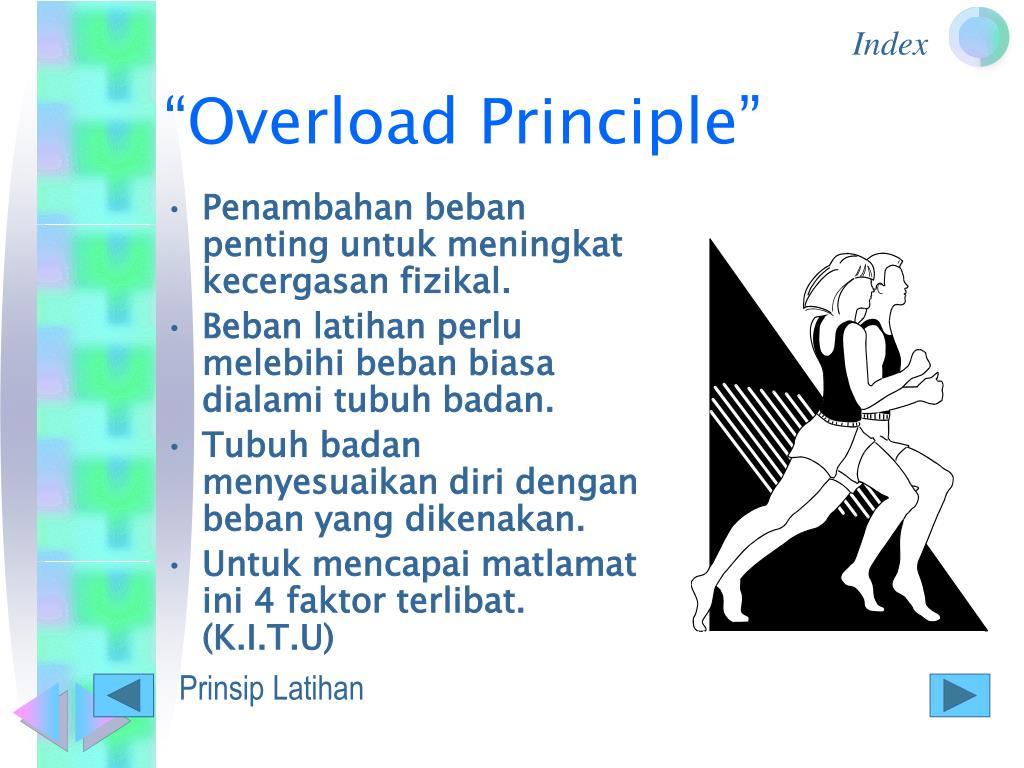 """Overload Principle"""
