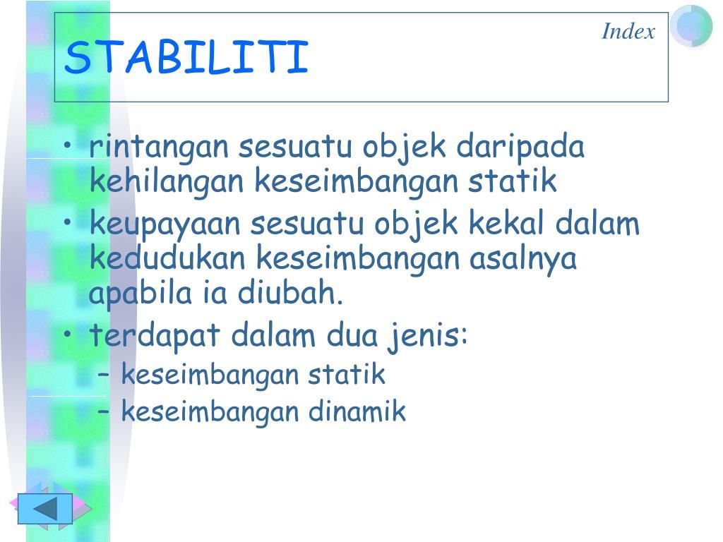 STABILITI