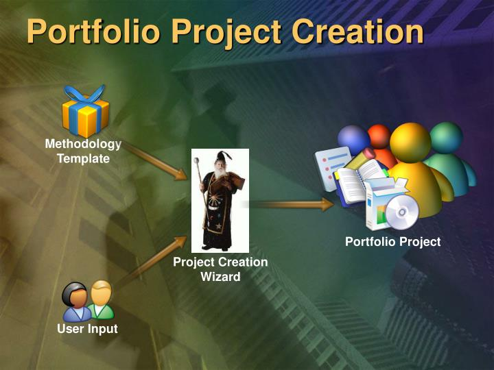 Portfolio Project Creation