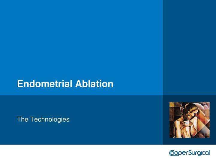 Endometrial Ablation