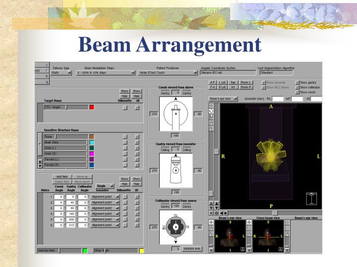 Beam Arrangement