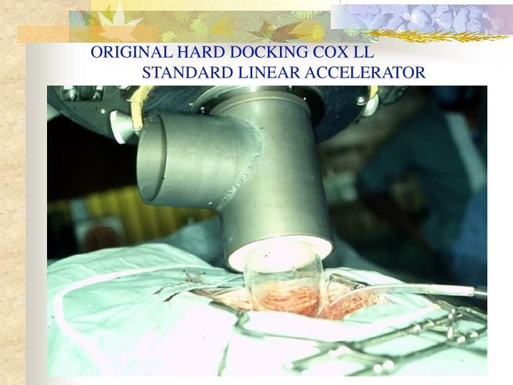 ORIGINAL HARD DOCKING COX LL