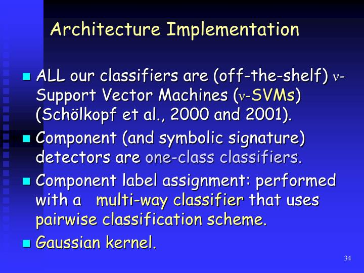 Architecture Implementation